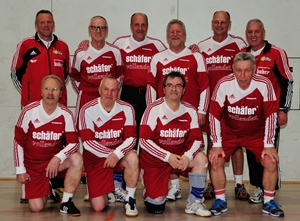 Deutsche Meisterschaft Faustball 2015, Herren 60, Rintheim