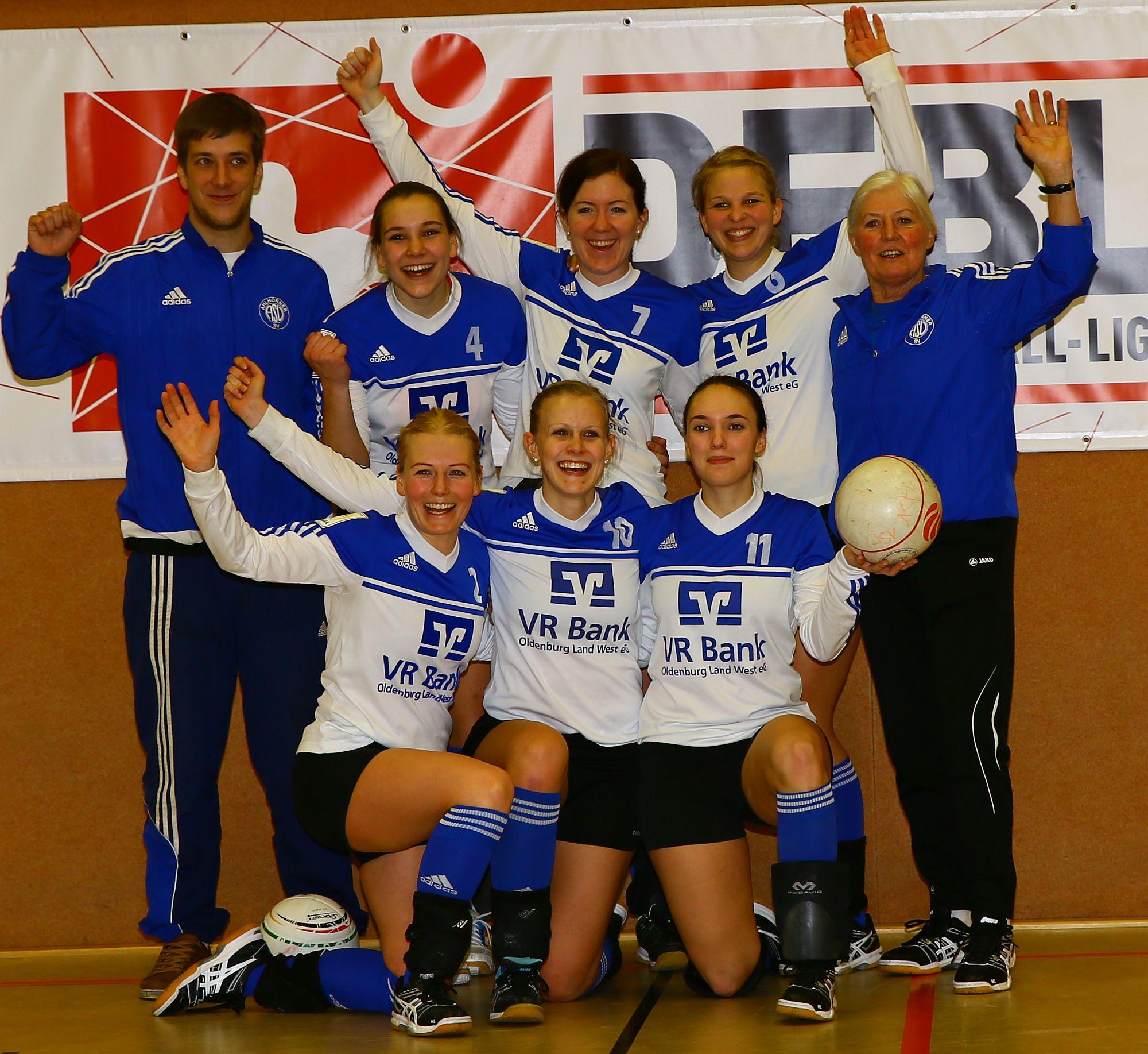 Mannschaft BL Frauen H 2016a