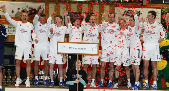 Faustball Deutsche Meisterschaft Halle Maenner 2010