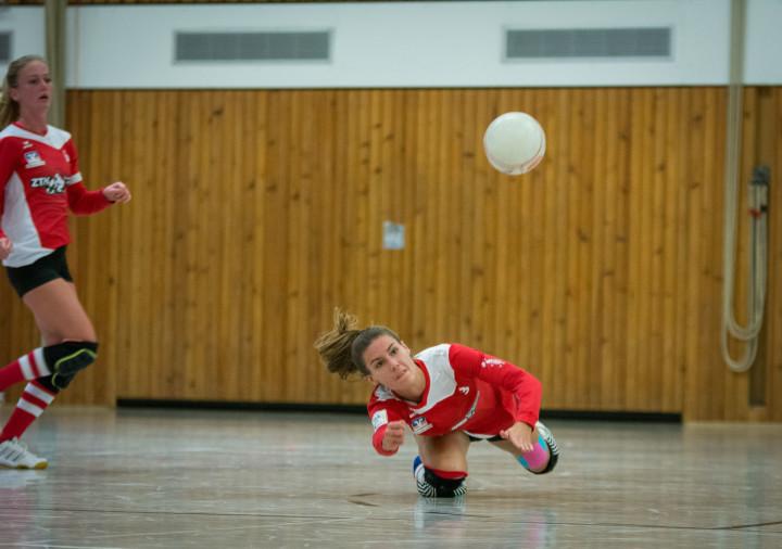 Theresa Schröder erkämpft sich mit dem TV Jahn Schneverdingen einen Platz in den Top-3. (Foto: DFBL/Schönwandt)