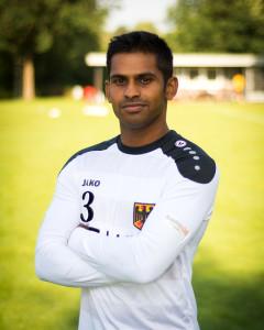 #3 Ajith Fernando (Foto: DFBL/Schönwandt)