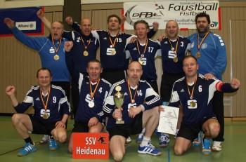 Deutscher Meister M45 HF2016 SSV Heidenau