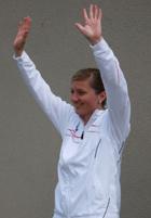 Team-Managerin Sarah Hoffrichter