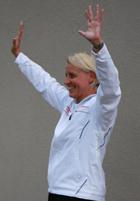 Bundestrainerin Silke Eber