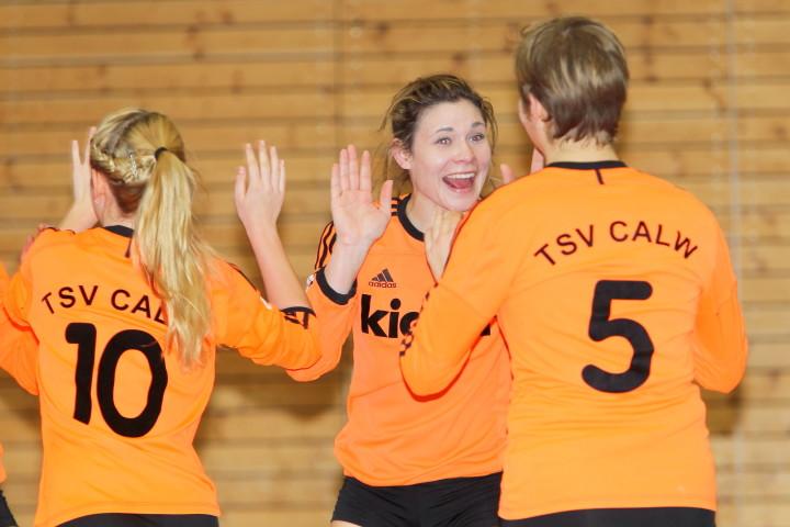 Der TSV Calw konnte zwei Auftaktsiege bejubeln. (Foto: DFBL/Stöldt)