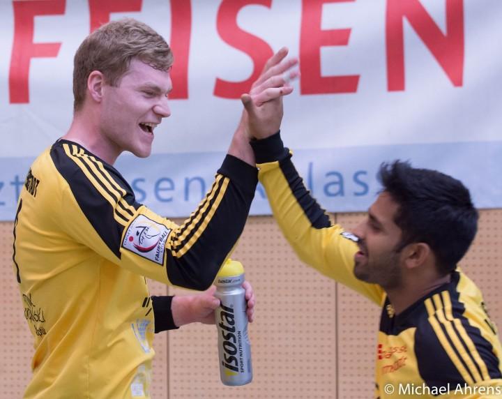 Patrick Thomas (l.) und Ajith Fernando sind schon für die DM qualifiziert (Foto: TSV Pfungstadt/Michael Ahrens)