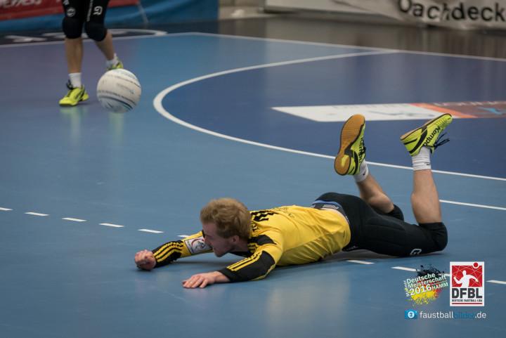 Sebastian Thomas und der TSV Pfungstadt haben eine Bauchlandung gegen Brettorf gerade noch verhindert (Foto: DFBL/Schönwandt)