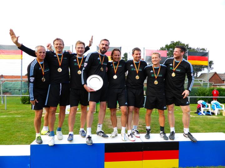 Deutscher Meister Männer 35: VfK Berlin.