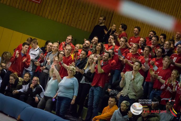Selsinger Halbfinal-Jubel (Foto: DFBL/Harder)
