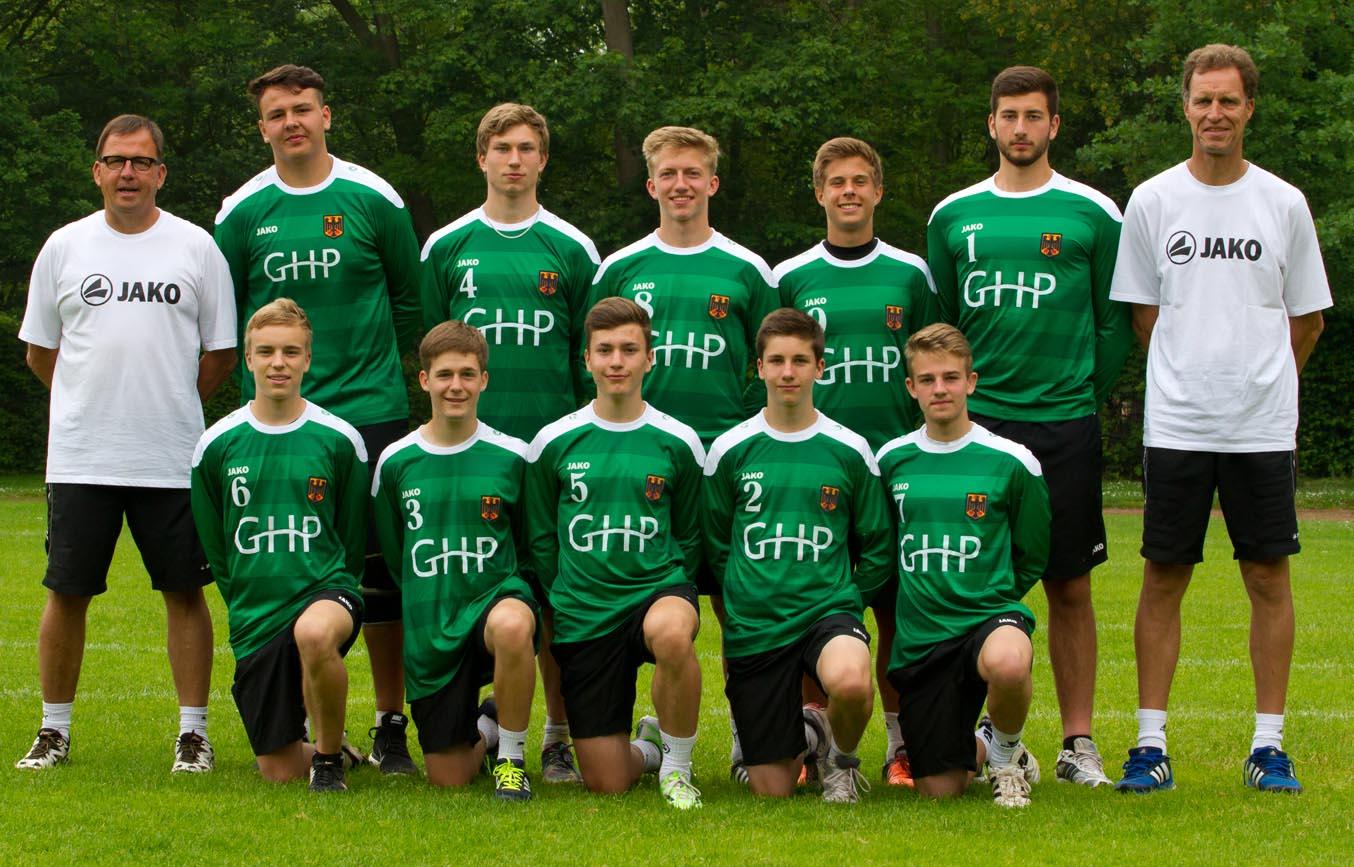 Das U18-Team für die Heim-WM. (Foto: Kadgien)
