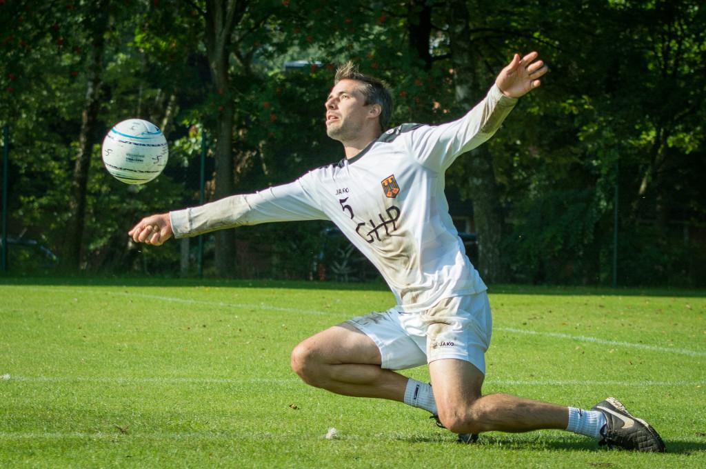 Michael Marx ist nun für Schwinfurt am Ball. (Foto: DFBL/Schönwandt)