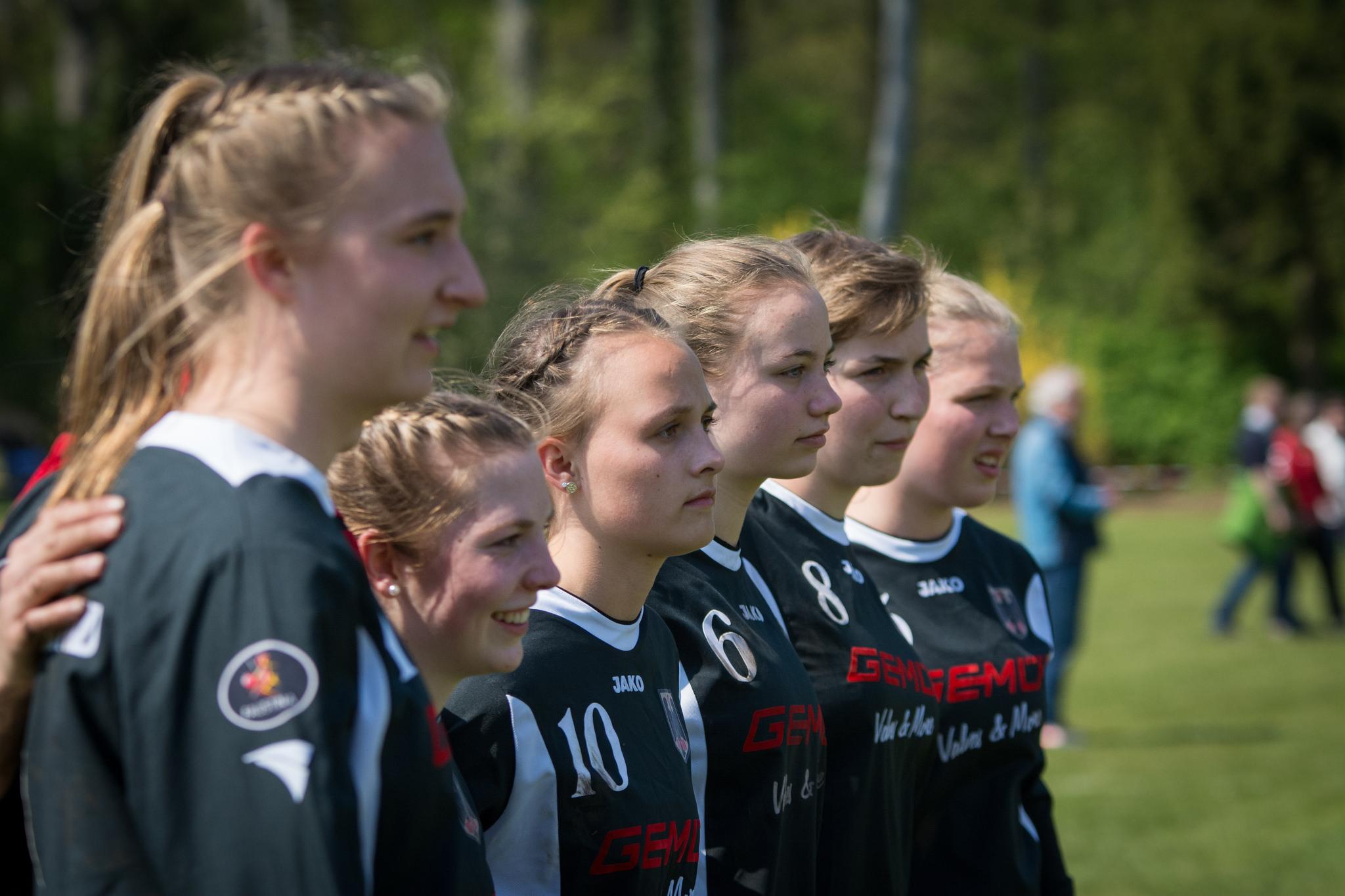 Deutschlands U18-Frauen (Foto: DFBL/Schönwandt)