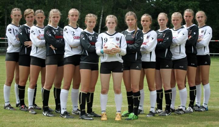 Das große Ziel WM im Blick: der deutsche U18-Nachwuchs.