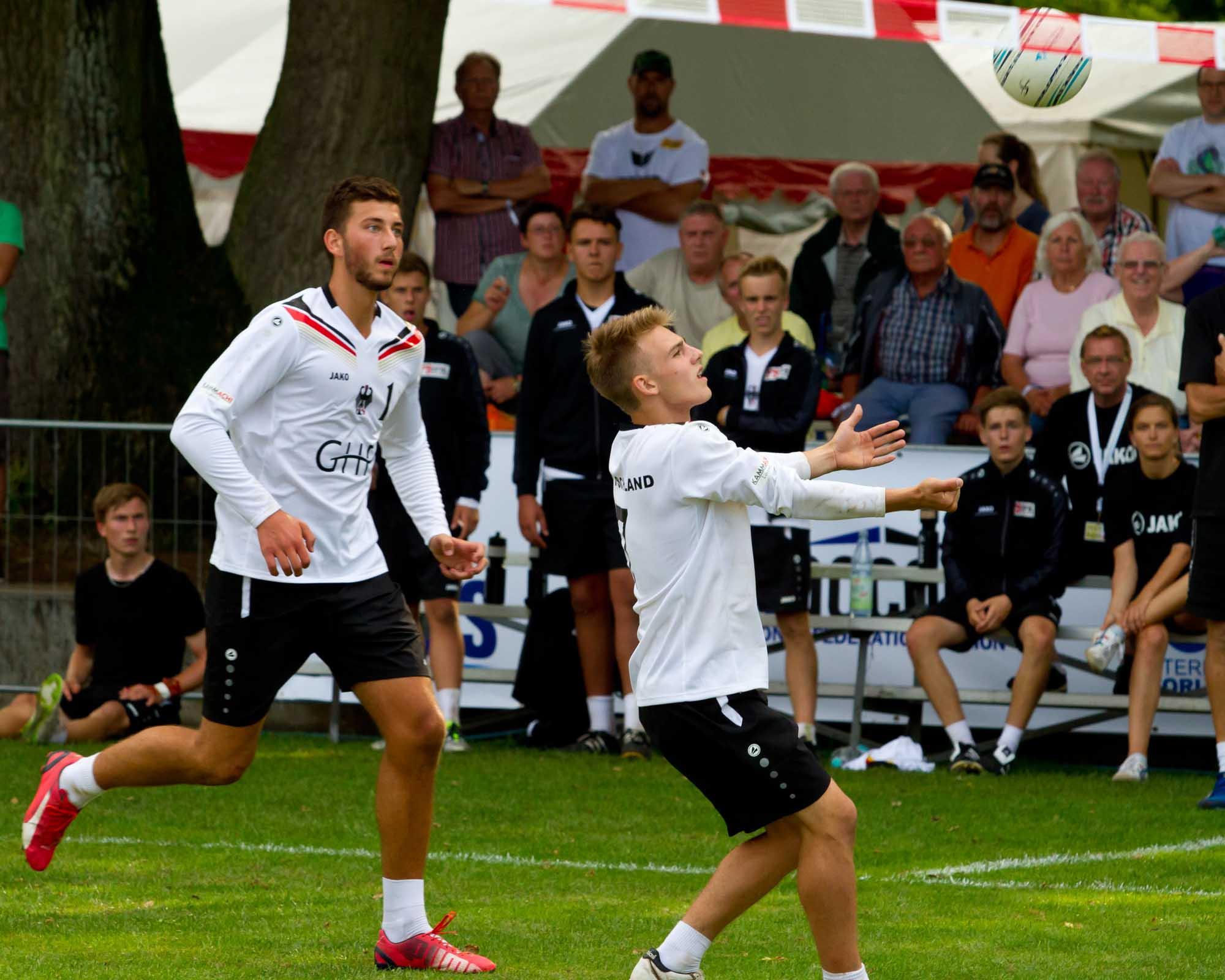 Deutschlands U18-Jungs treffen im Halbfinale auf Brasilien. (Foto: DFBL/Kadgien)