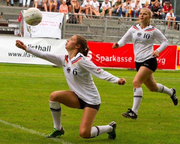 Deutschlands Frauen gewinnen alle Vorrundenspiele (Foto: DFBL/Kadgien)