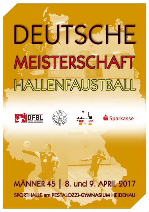 Deutsche Meisterschaft der M+ñnner +£45_Halle 2016-17