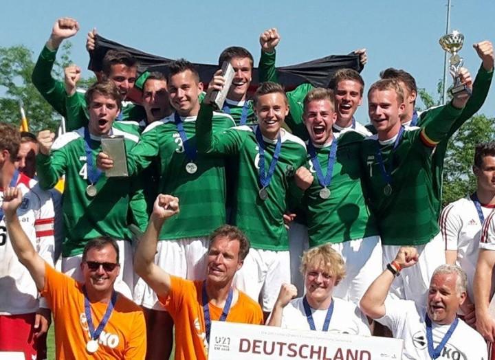 Europameister U21 Deutschland Foto Andrea Schachtsiek