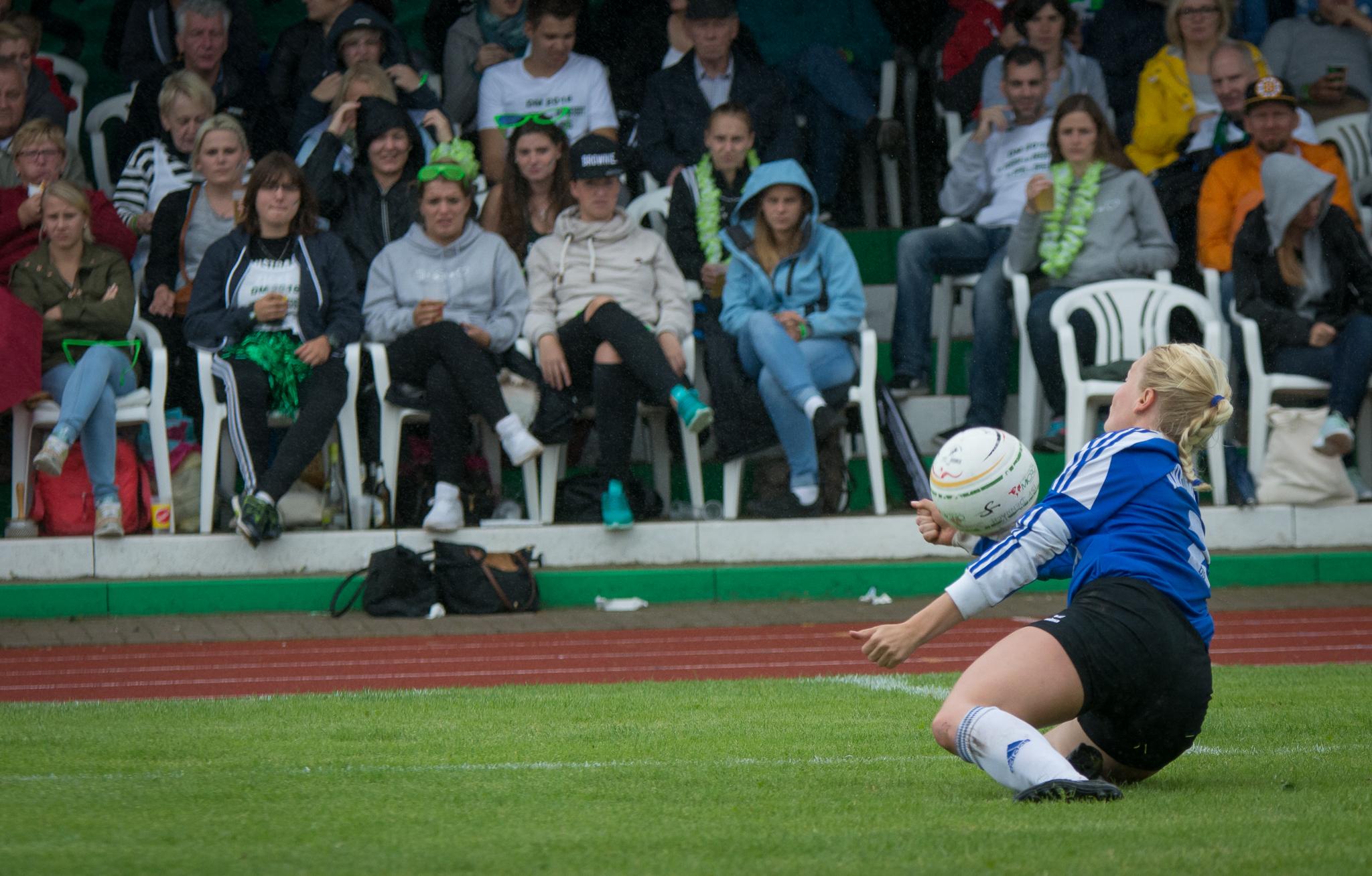 Ahlhorn mit Janna Köhrmann steht wieder einmal im DM-Finale (Foto: DFBL/Schönwandt)