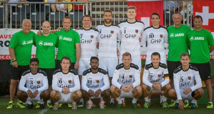 Der deutsche EM-Kader (Foto: DFBL/Schönwandt)