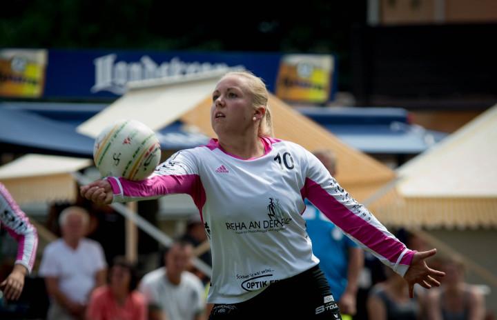 Anna-Lisa Aldinger vom TSV Dennach (Foto: DFBL/Schönwandt)