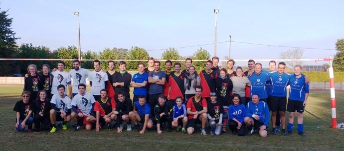 Die Teilnehmer-Teams der ersten Meisterschaft.