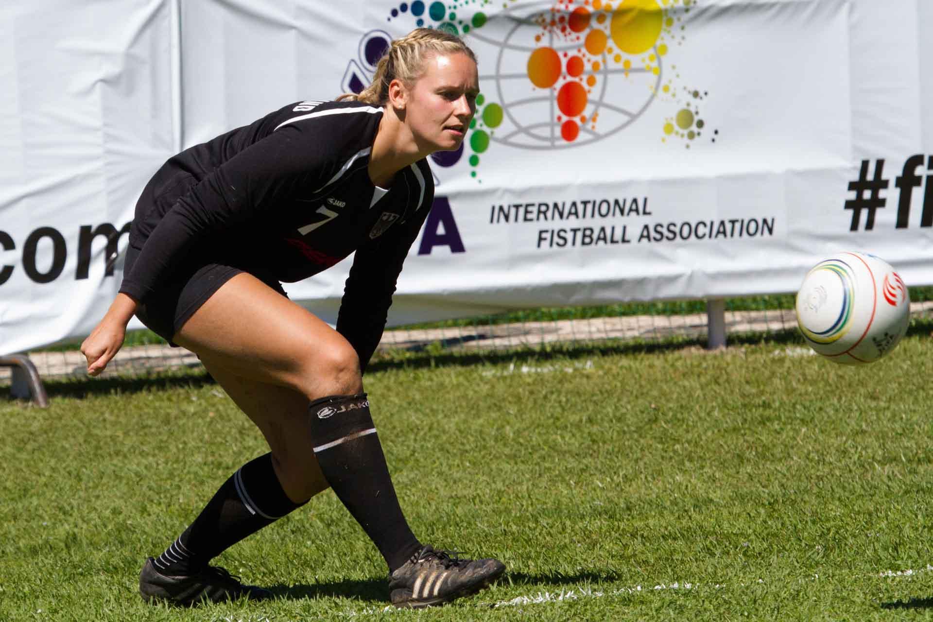 Sophia Scheidt im Spiel gegen die Argentinierinnen (Foto: Spille)