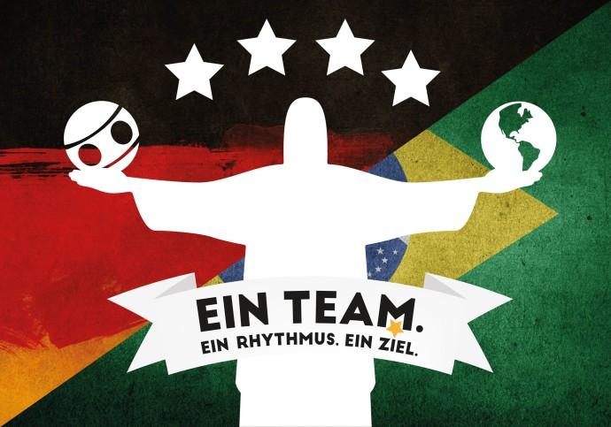 Das vom Frauenkader selbstgestaltete Motto-Logo für die WM.