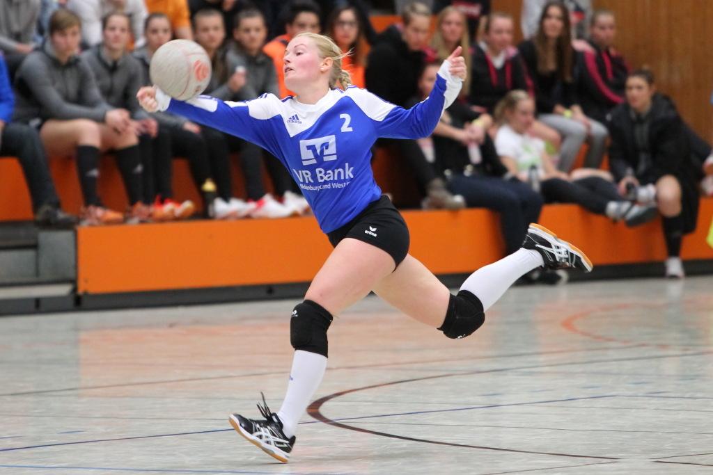Favoritensieg für Janna Köhrmann und den Ahlhorner SV. (Foto: DFBL/Stöldt)