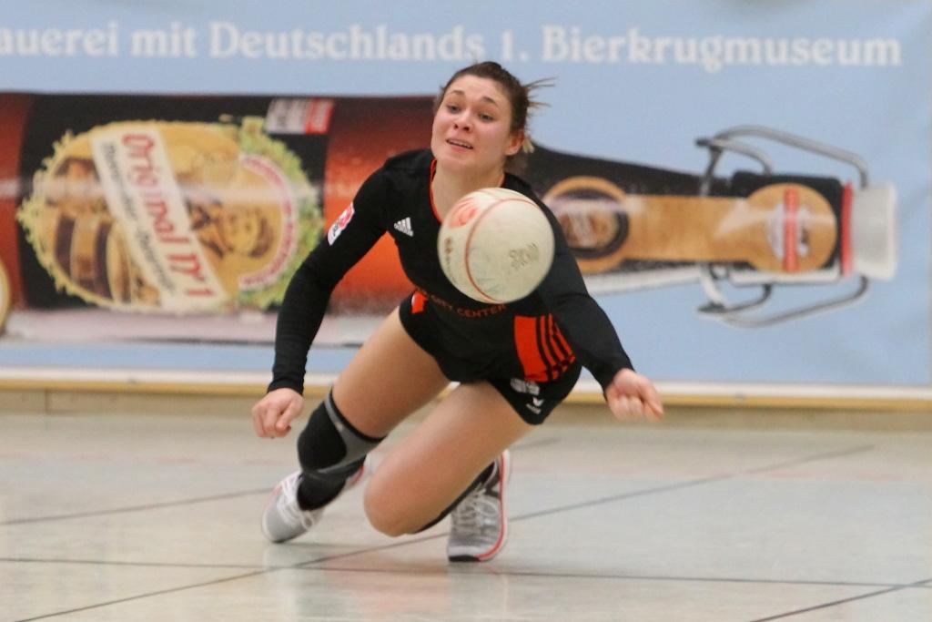 Defensiv und offensiv Weltklasse: Stephanie Dannecker vom TSV Calw (Foto: DFBL/Stöldt)