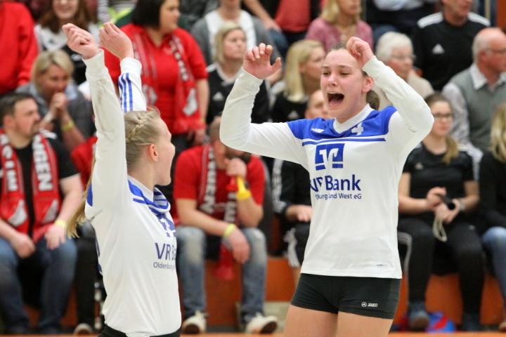 Happy End nach fünf Sätzen: Ahlhorn steht wieder im DM-Endspiel. (Foto: DFBL/Stöldt)