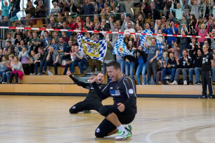 Rosenheim fightet sich ins DM-Endspiel. (Foto: DFBL/Stöldt)