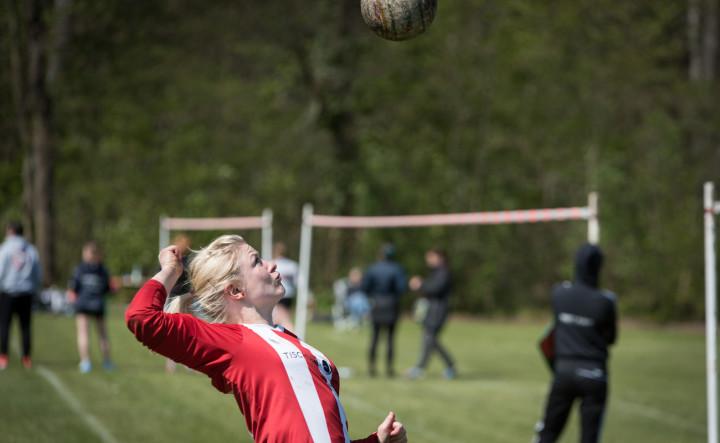 Moslefehn mit Sabine Grüning kassierte die erste Saisonpleite (Foto: DFBL/Schönwandt)