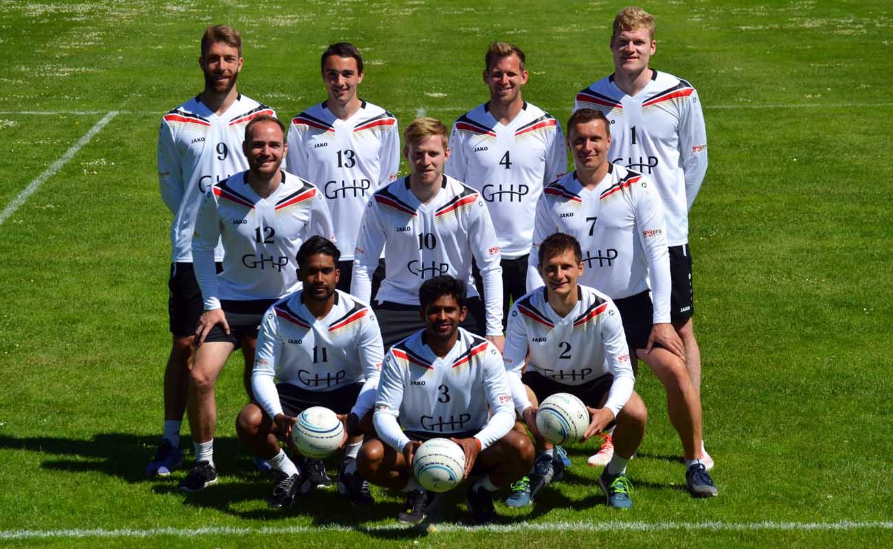 Der deutsche Kader für die World Games 2017.