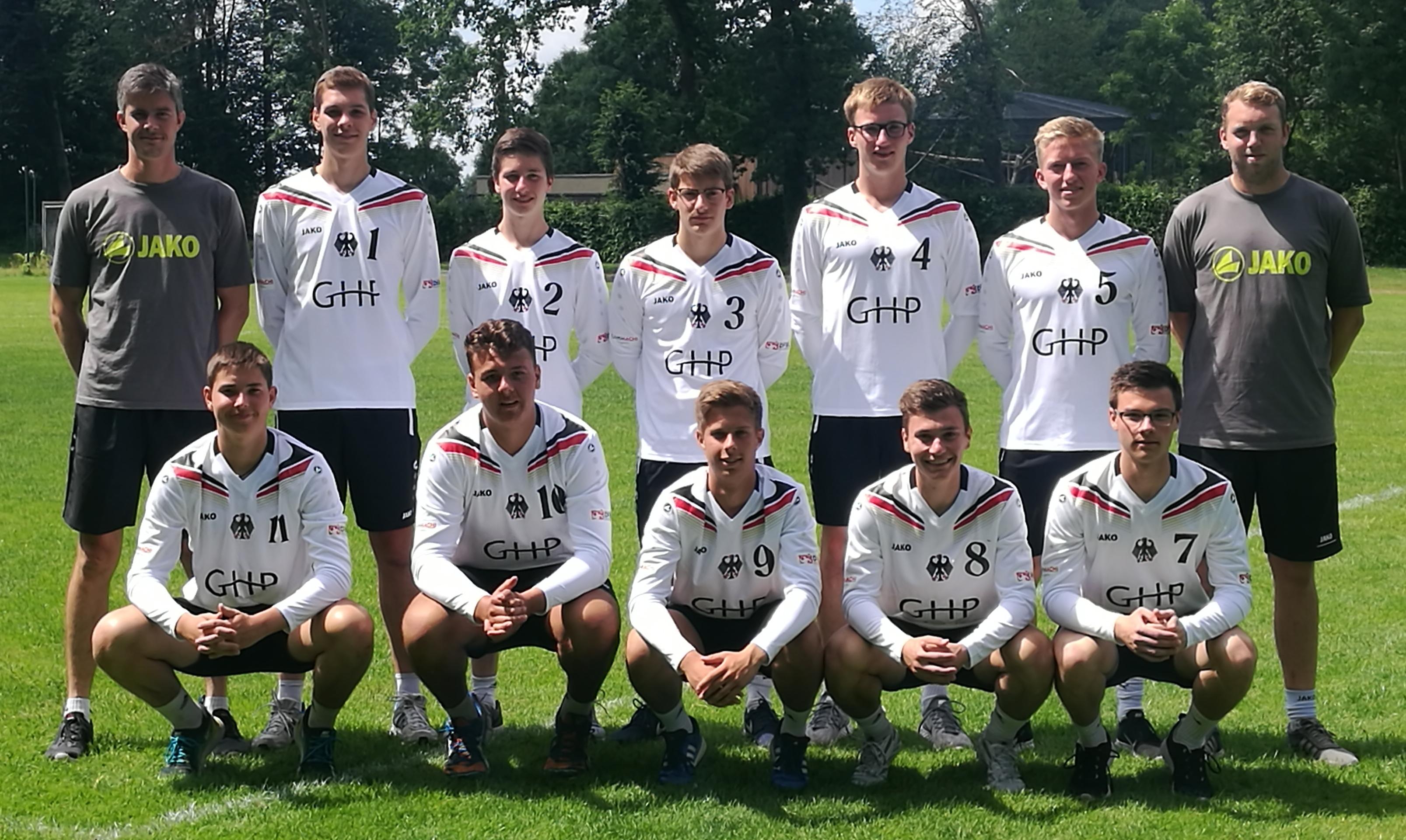 Team mU18 Deutschland 2017