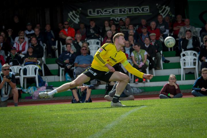 Top-Star beim Champions Cup: Pfungstadts Patrick Thomas (Foto: DFBL/Schönwandt)