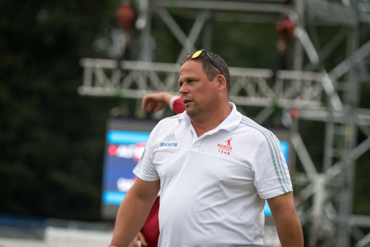 Schweiz-Trainer Oliver Lang (Foto: DFBL/Schönwandt)