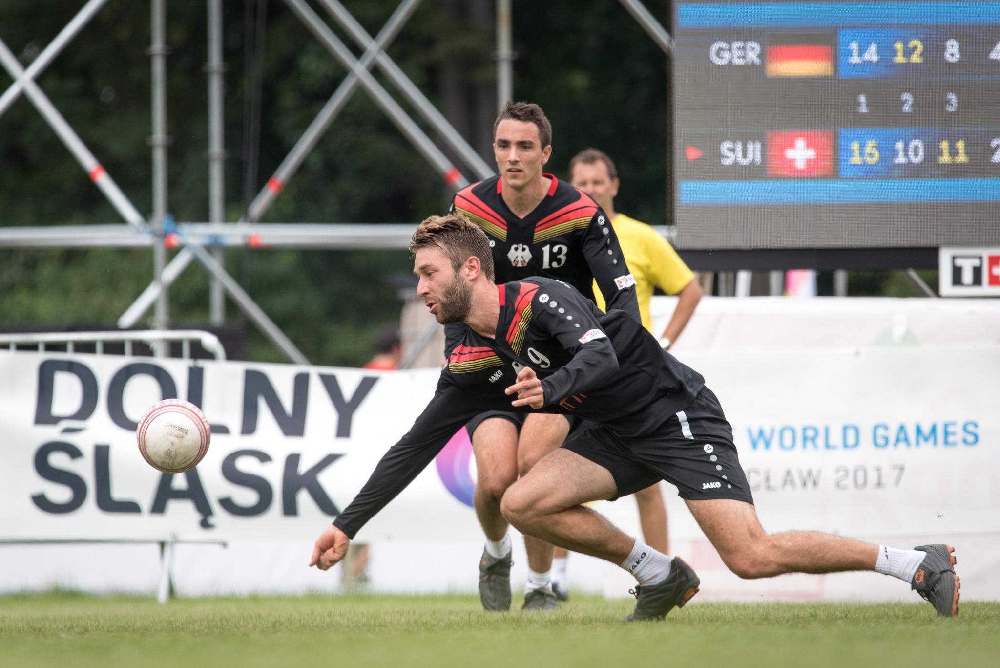 Wieder gegen die Schweiz spielen Nick Trinemeier, Tim Albrecht und die deutsche Auswahl (Foto: DFBL/Schönwandt)
