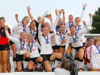 EFA Womens European Championship 2017 Faustball Europameisterschaft der Frauen 2017 26./27. August 2017, Calw Sieger: Deutschland