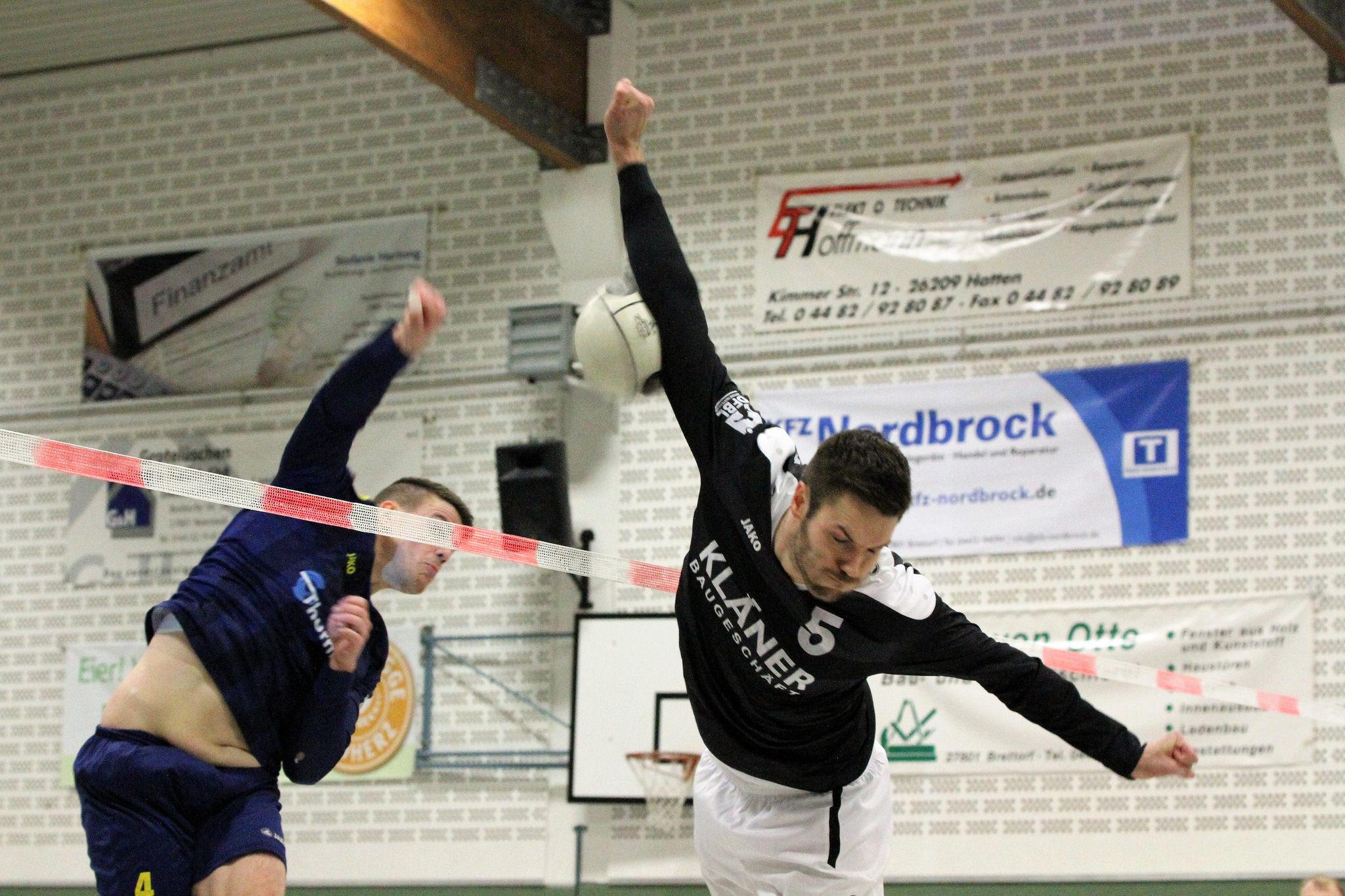 Packende Blockduelle gewann meist Brettorfs Tobias Kläner (Foto: Uwe Spiele)