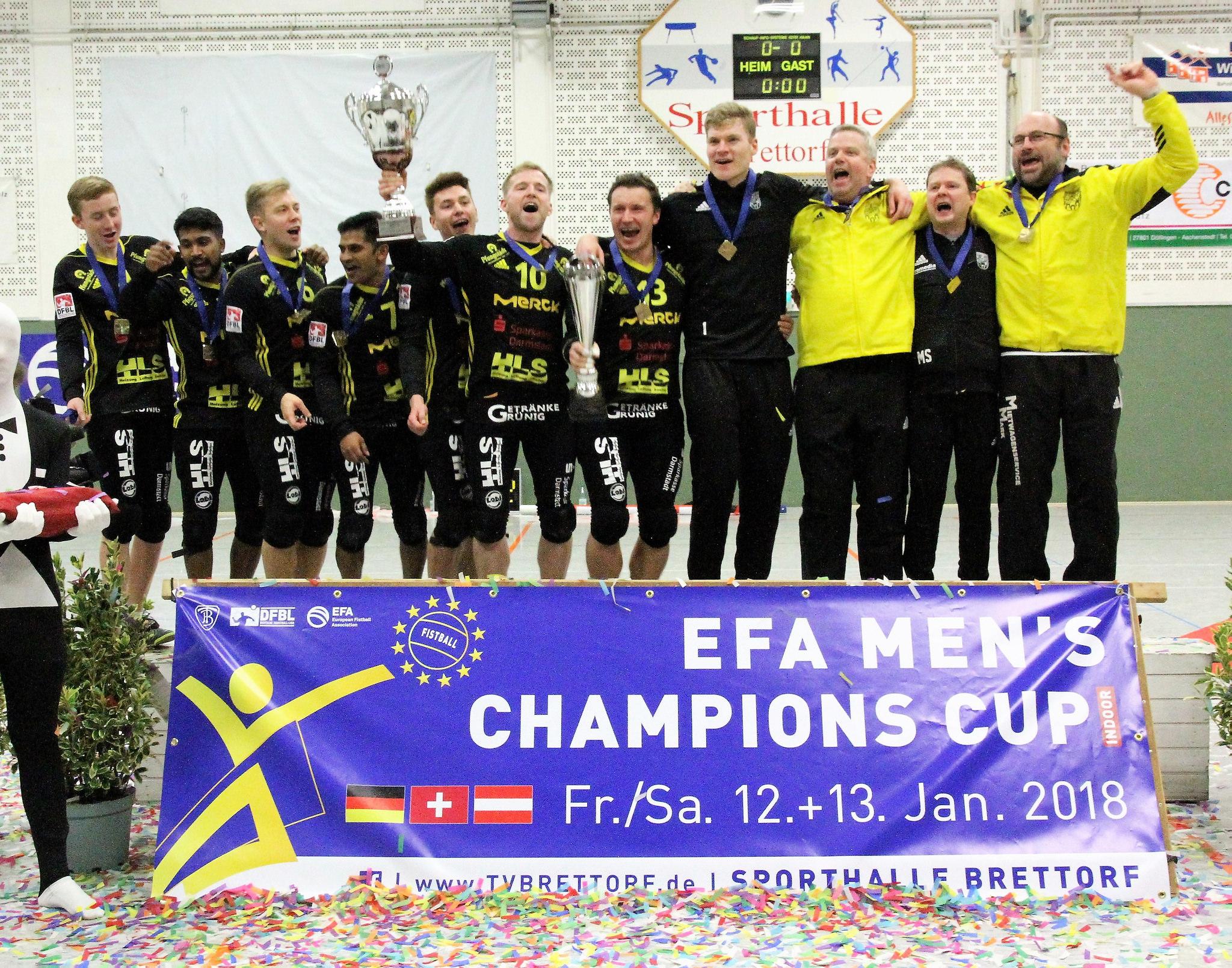 EFA Men's Champions 2018: TSV Pfungstadt (Foto: Uwe Spille)