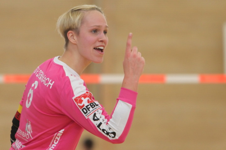 Starker Auftritt von Sonja Pfrommer (Foto: DFBL/Stöldt)