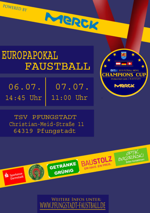 Champions Cup 2019 in Pfungstadt