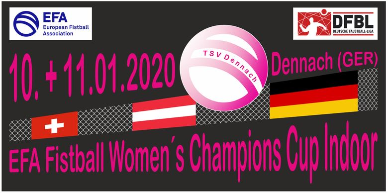 EFA Fistball Women's Champions Cup Indoor 10.+11.01.2020